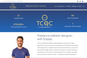 To show the TCQC homepage